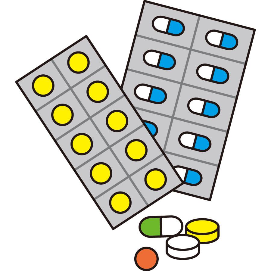 薬の効果や副作用についてまとめます。
